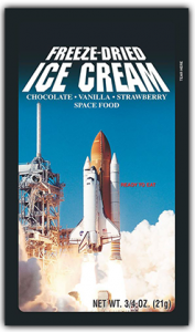 the best freeze dried ice cream