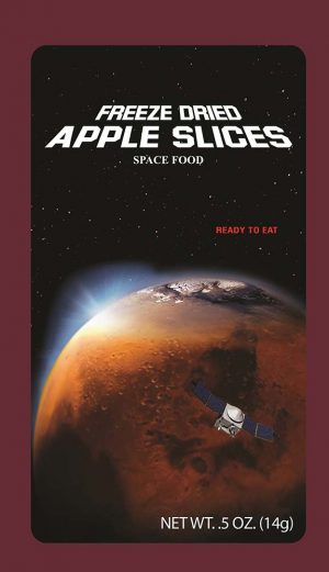 Luvy Duvy Freeze Dried Fruit Apple slices