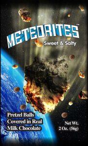 Luvy Duvy Meteorites pretzel ball milk chocolate